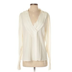 RACHEL Rachel Roy Tops - Rachel Roy Long Sleeved 100% Silk Blouse-EUC